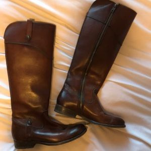 Frye mid length women's leather boots